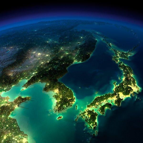 Космонавт из МКС снял на видео путешествие от Африки к Восточной Европе