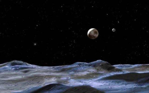 Ученые: Карликовые планеты блестят из-за ледяных вулканов
