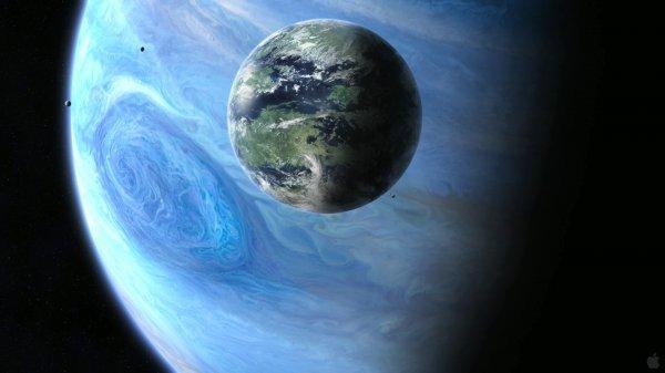 Учёные допустили, что гигантская экзолуна Нептлун может превысить размеры планет