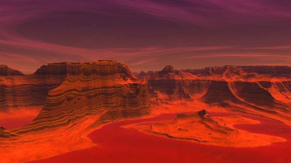Всему виной Солнце: Ученые выяснили причины уничтожения жизни на Марсе