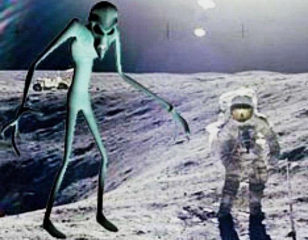 На Луне ползучие камни передвигают инопланетяне: Есть ли жизнь на естественном спутнике Земли?