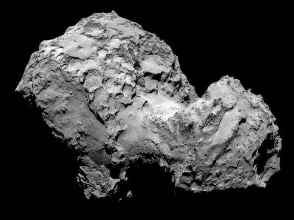 Ученые объяснили происхождение странной «утиной» кометы 67Р