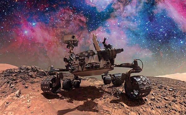 Уфологи заметили на Марсе шестиметрового кота-мутанта