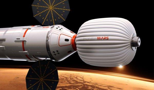 Инженеры из РФ спроектировали шлем для тренировки космонавтов перед полетом на Марс