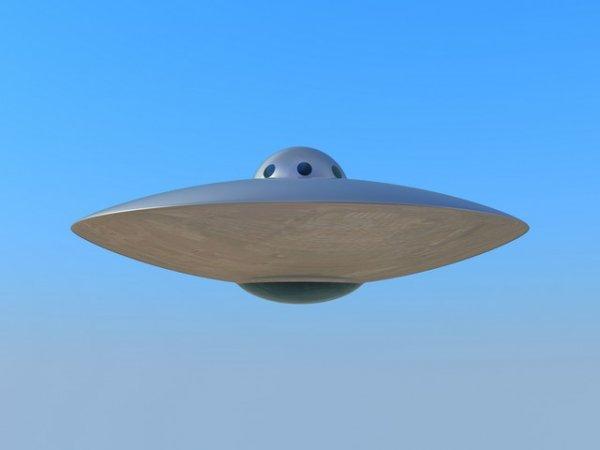 В небе над Портсмутом замечена летающая тарелка