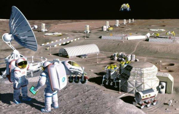 Томские ученые разработают новые технологии для строительства лунных баз