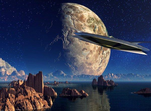 Уфологи обнаружили на спутнике Юпитера обломки НЛО треугольной формы?: Пришельцы или «фейк»?