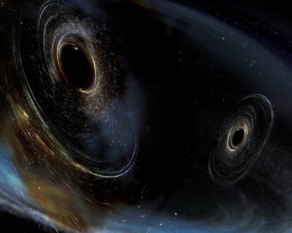 Ученые сообщили, что на окраинах спиральных галактик сливается множество черных дыр: Четыре отдельных сигнала одновременно исходили от «пожирателей»
