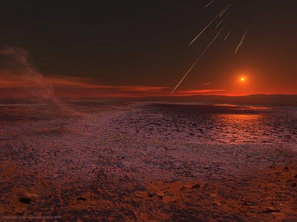 Исследования позволили предположить, что на Марсе могла быть жизнь: Возможно, 4,4 миллиона лет назад с Землею столкнулась Красная планета