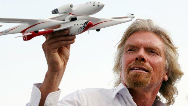 Ричард Бэнсон открыл четвертую аэрокосмическую корпорацию
