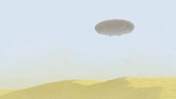 В пустыне Сахаре турист зафиксировал НЛО с телепортирующимеся пришельцами