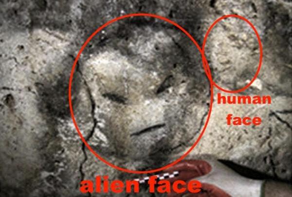 Ученые нашли в древней пещере на Пуэрто-Рико изображение пришельца