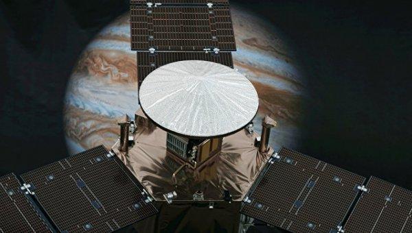 NASA: Зонд Juno выстоял во время «парада планет»