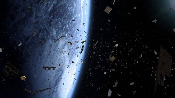 В Японии установят устройство, следящее за космическим мусором