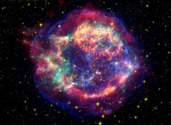 NASA: В галактике NGC 4993 столкнулось две нейронные звезды, человечество могло погибнуть