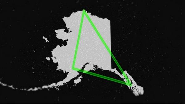 На Аляске в «Бермудском» треугольнике пропадают люди