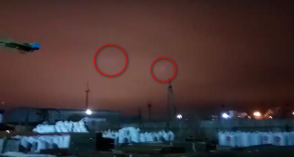 В Тюмени местные жители разглядели в ночном небе НЛО