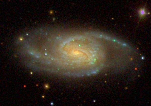 Найдена самая древняя во Вселенной спиральная галактика: Космическому пространству 11 млрд. лет