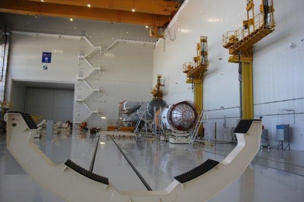 На Восточном был собран пакет ракеты-носителя «Союз 2.1б»