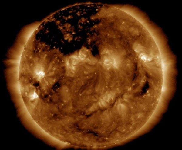NASA показало редкое явление на Солнце