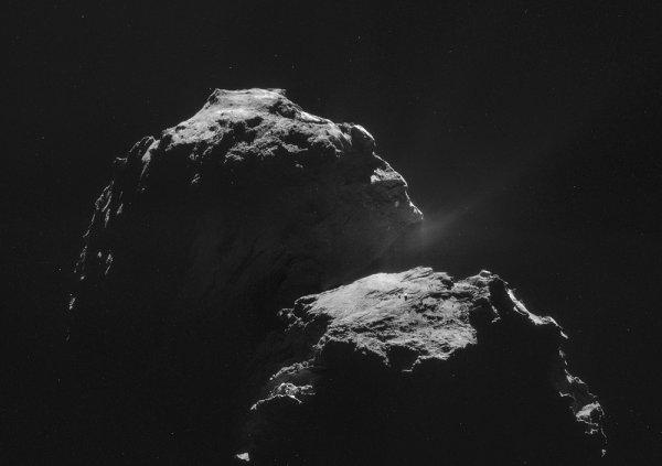 Яйцеобразный НЛО найден уфологами на комете Чурюмова-Герасименко