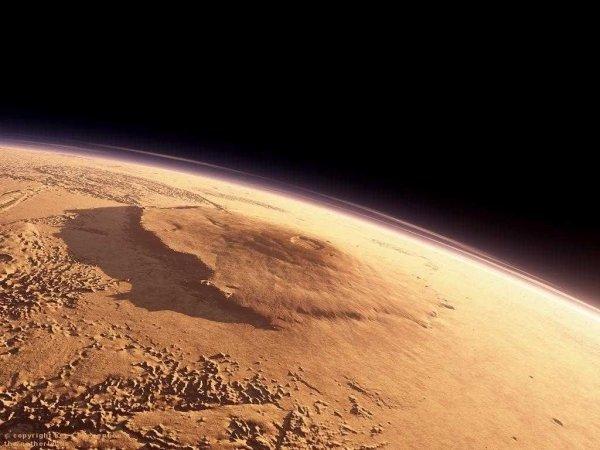 Ученые назвали дату извержения вулкана на Марсе