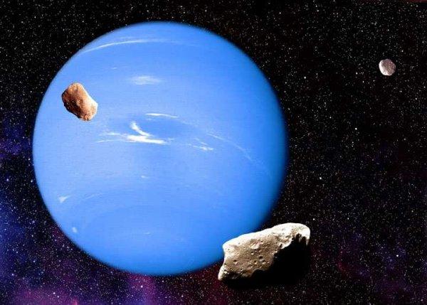 Ученые: В результате столкновения с Тритоном пострадала древняя лунная система Нептуна