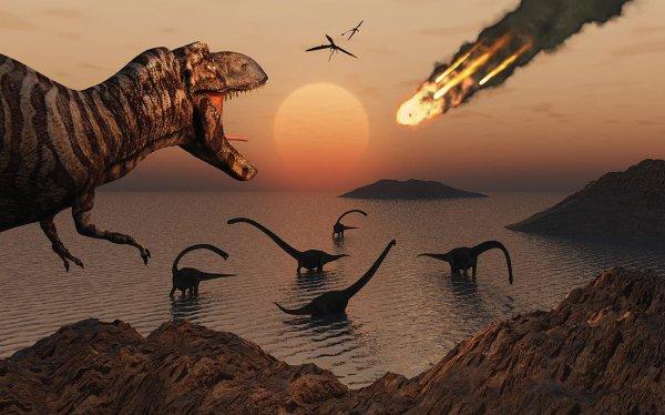 Ученые: Динозавры вымерли по ошибке