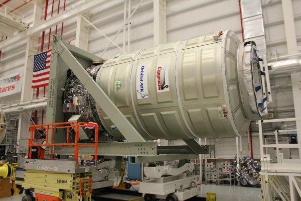 В NASA сорвался запуск беспилотной грузовой ракеты Cygnus
