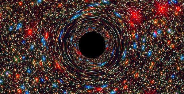 Ученые: В черной дыре тело человека растянется, как макаронина