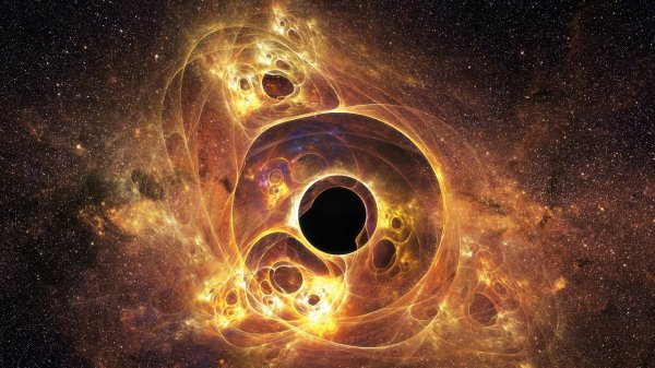 Человек в черной дыре погибнет и вытянется, как спагетти?. Тело телепортируется в параллельную Вселенную.