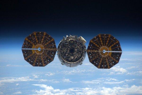 NASA опубликовала видео стыковки космического судна Cygnus и МКС