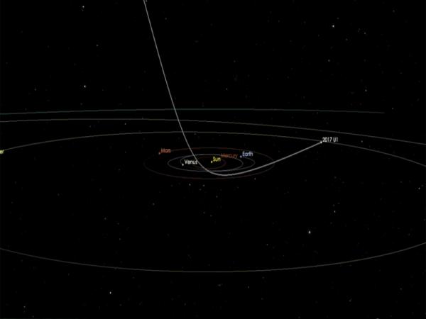 Сигарообразный объект с красноватым оттенком: Ученые впервые обнаружили межзвездный астероид?