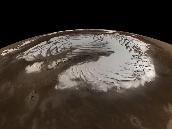Ученые: На Марсе была вода во времена динозавров