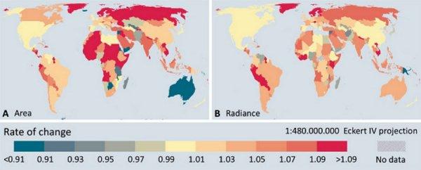 Земля «болеет» световым загрязнением: Учёные нашли новый повод для беспокойства