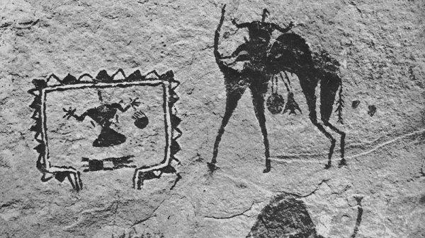 На Южном Урале нашли уникальное изображение верблюда эпохи палеолита
