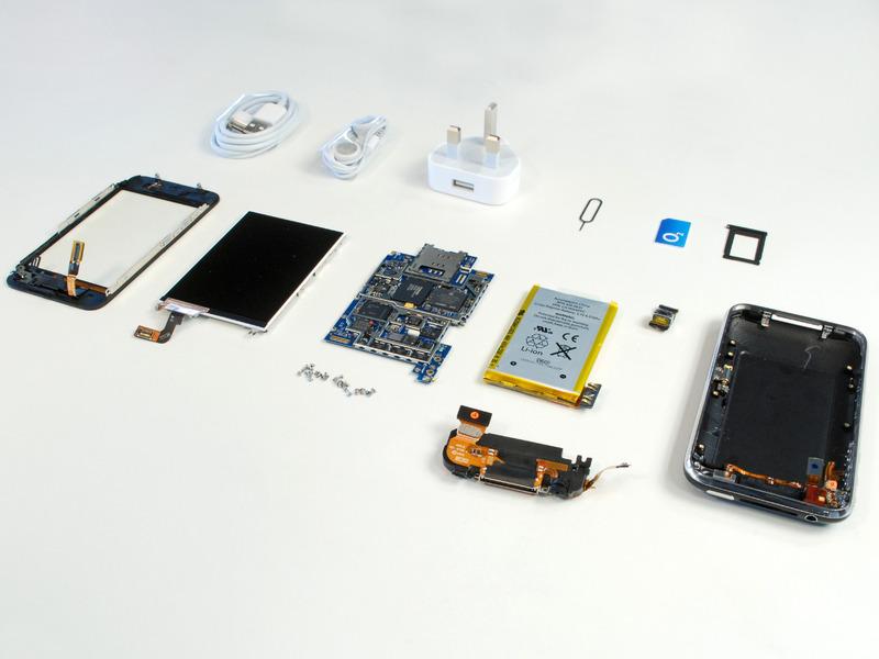 Детали и комплектующие для техники Apple