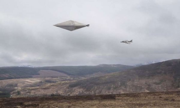 В Небраске камера наблюдения зафиксировала появление нескольких НЛО