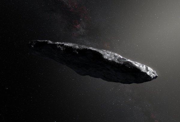 Откуда мог прилететь «Оумуамуа»? Первый межпланетный астероид замедлит скорость возле Земли