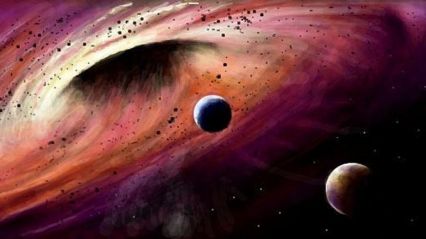 Ученые увидели сверхтесную пару черных дыр