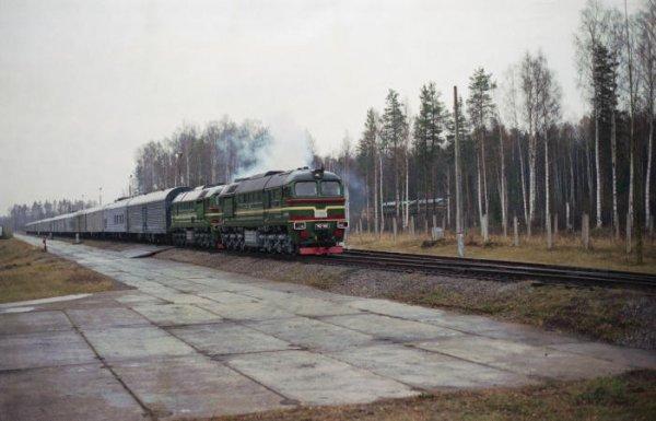 СМИ: РФ остановила разработку «ядерных поездов»