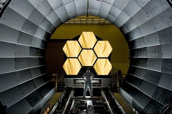 Телескоп «Джеймс Уэбб» успешно выдержал криогенные тесты
