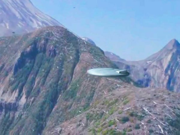 Уфологи: Замечено спиральное НЛО над Скалистыми горами в США