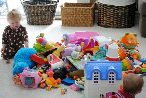 Чрезмерное количество игрушек опасно для детей – Ученые