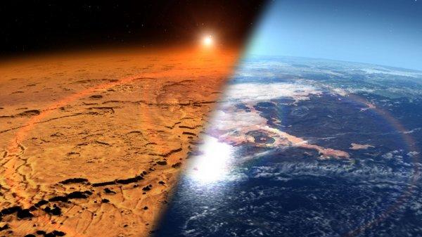Ученные объяснили появление глины и филлосиликатов на Марсе