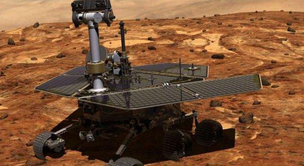 Марсоход Opportunity передал первые снимки после «зимней спячки»