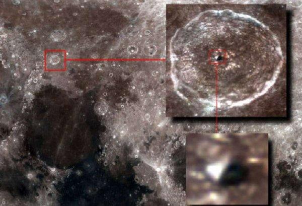 Инопланетянин с рюкзаком замечен на Луне? «Руководство свыше» запретило NASA комментировать информацию