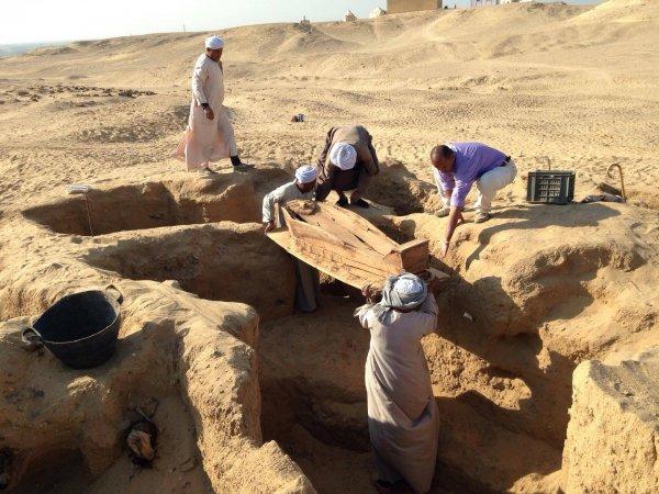 Археологи обнаружили древнее «детское кладбище» на юге Египта