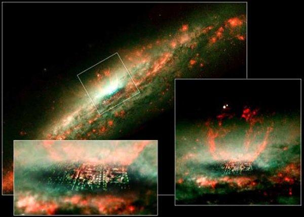 NASA обнаружила космический «город Бога»