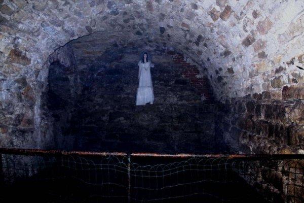 На видео попало «привидение» в старинном доме в Британии
